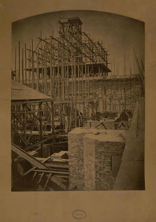 Construction Opéra Garnier 22