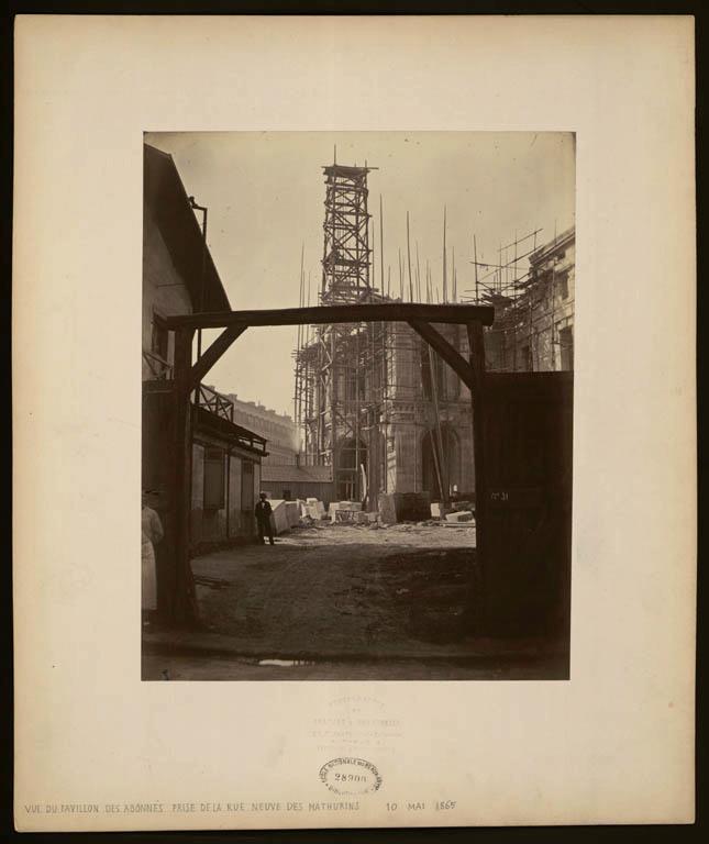 Construction Opéra Garnier 23