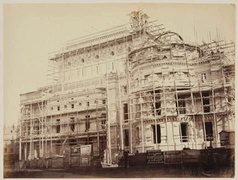Construction Opéra Garnier 24