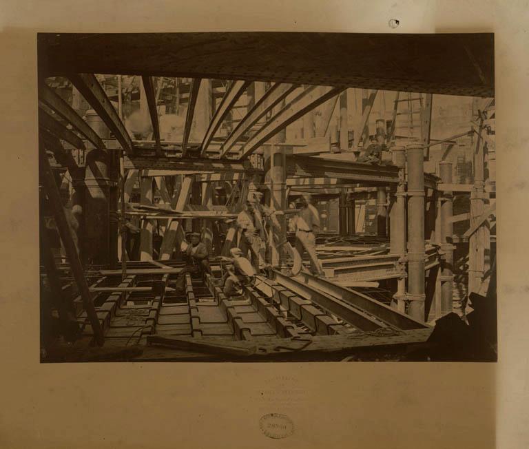 Construction Opéra Garnier 26