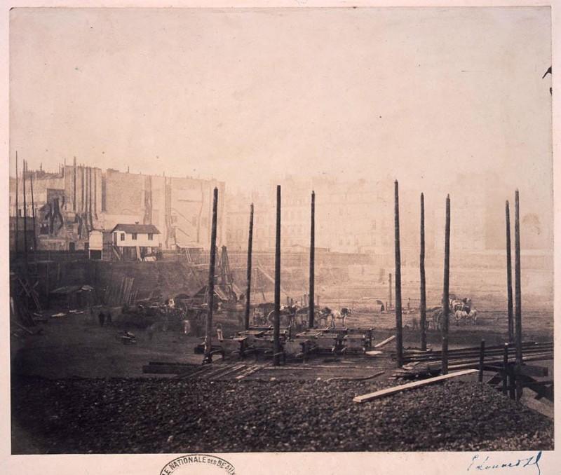 Construction Opéra Garnier 27