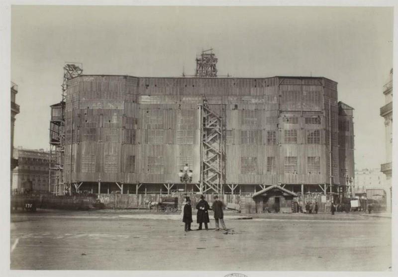 Construction Opéra Garnier 28