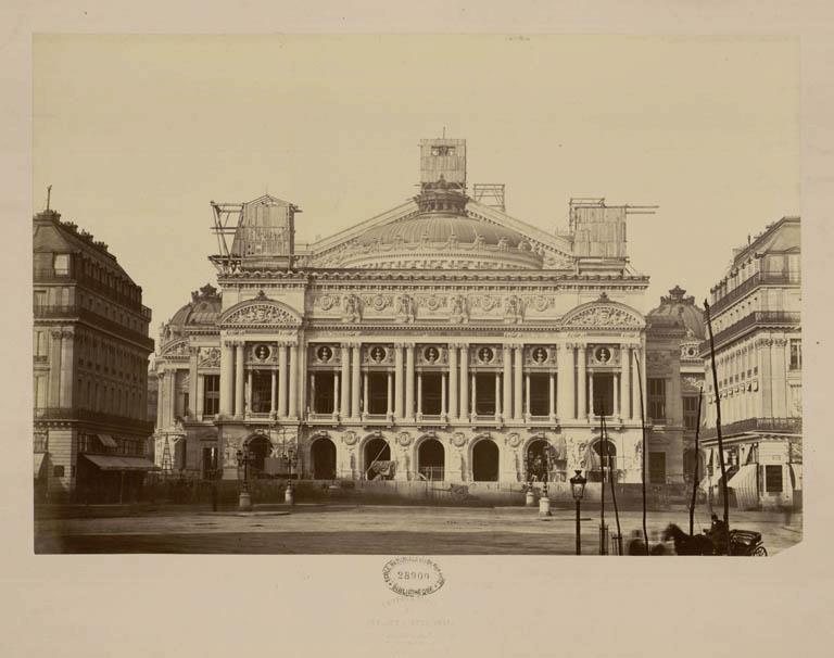 Construction Opéra Garnier 29
