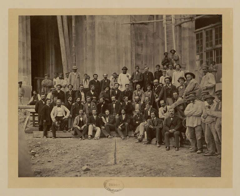 Construction Opéra Garnier 3