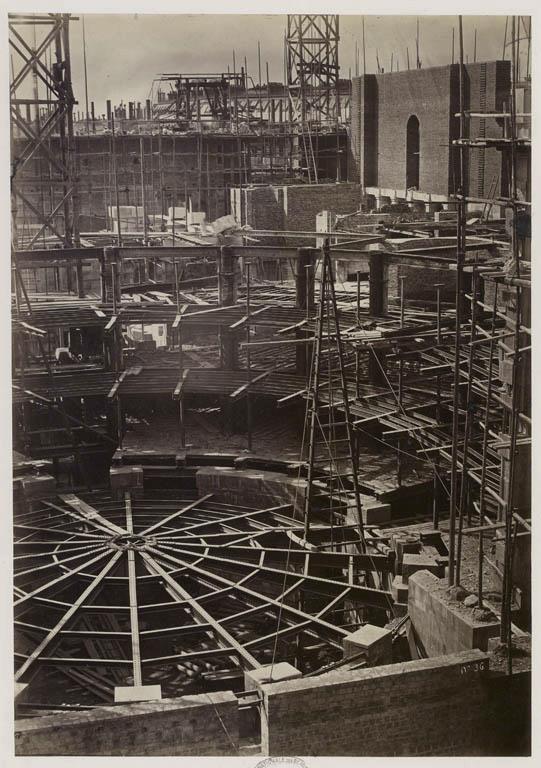 Construction Opéra Garnier 30
