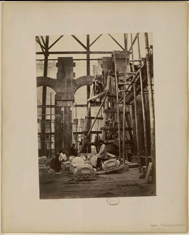Construction Opéra Garnier 31