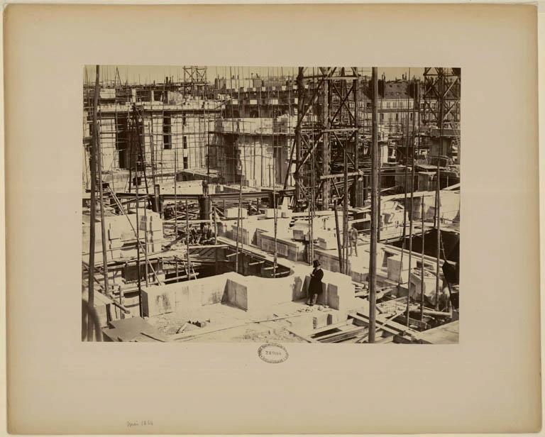 Construction Opéra Garnier 32