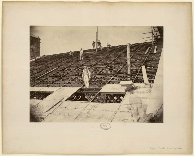 Construction Opéra Garnier 33