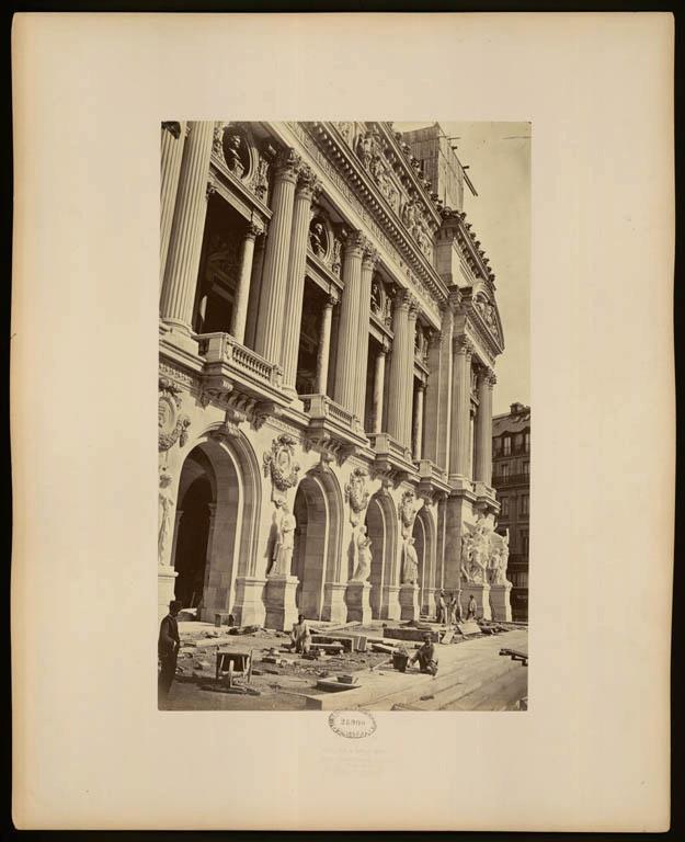 Construction Opéra Garnier 37