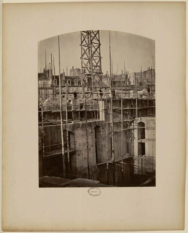 Construction Opéra Garnier 38