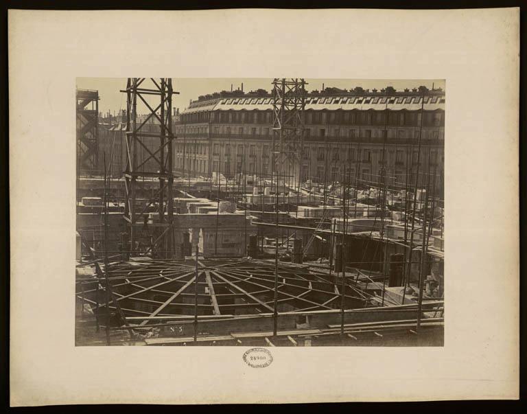 Construction Opéra Garnier 4