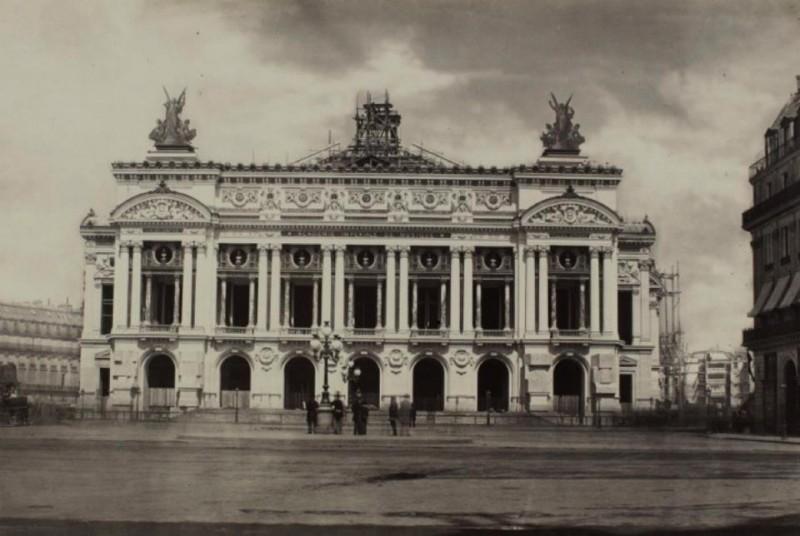 Construction Opéra Garnier 5