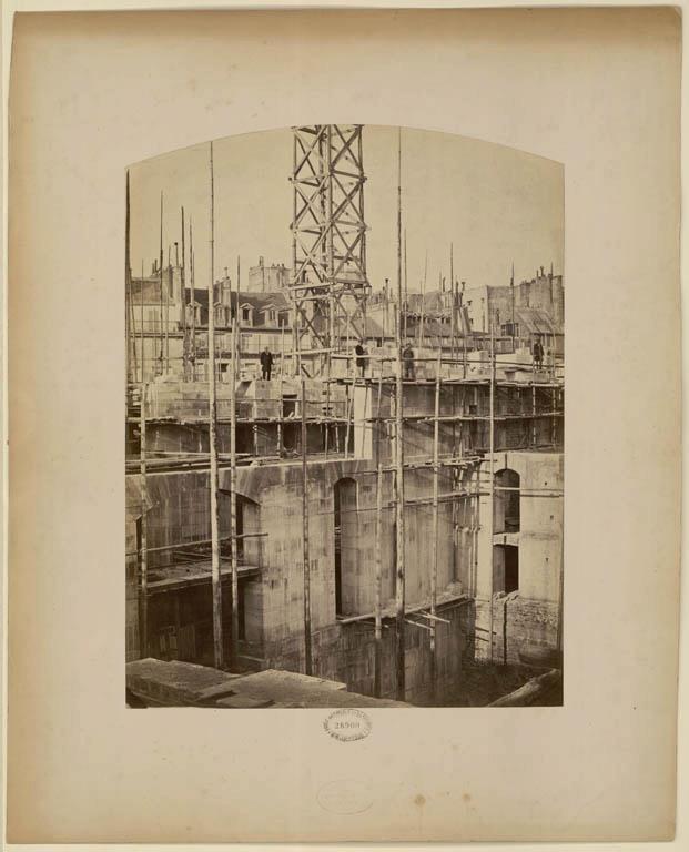 Construction Opéra Garnier 6