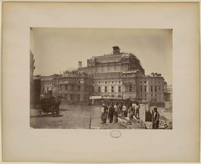 Construction Opéra Garnier 7