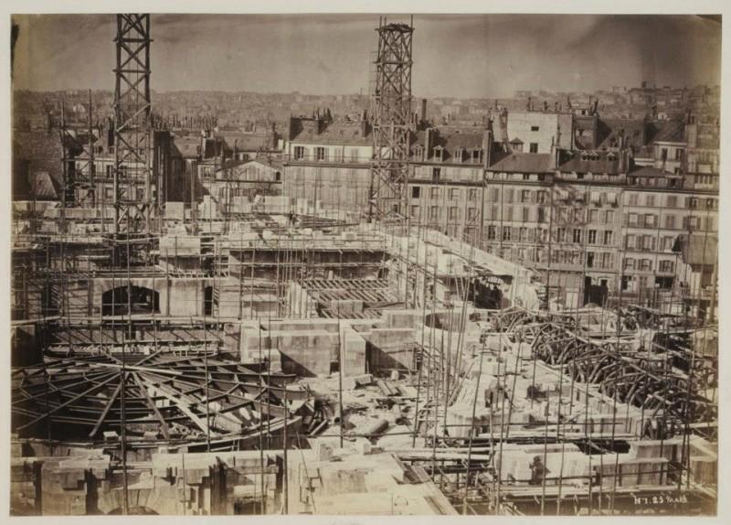 Construction Opéra Garnier 9