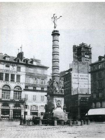 Place du Châtelet 1852