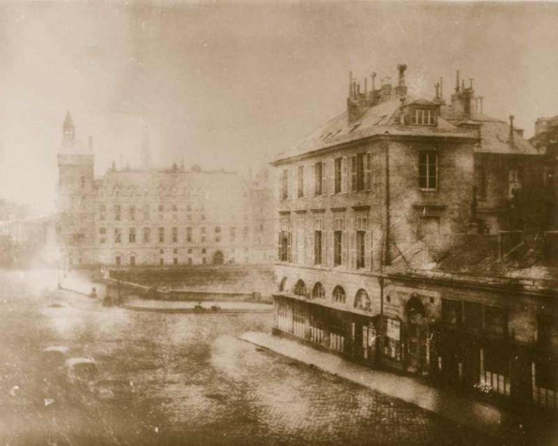 Place du Châtelet vers 1850