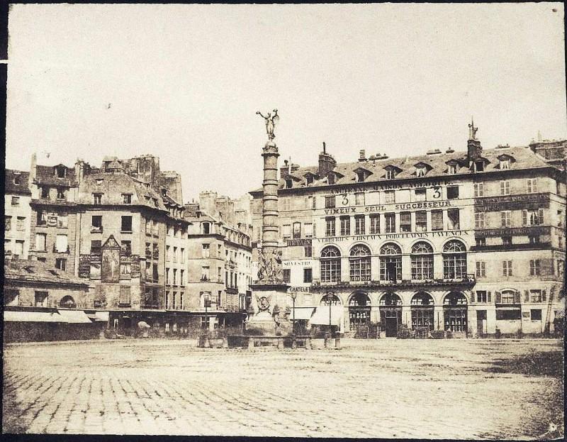 Place du Châtelet vers 1851 - Louis Adolphe humbert de Molard