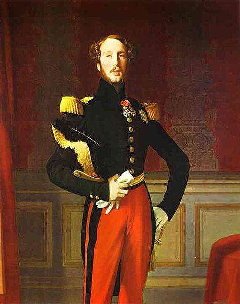 Ferdinand Philippe d'Orléans par Ingres