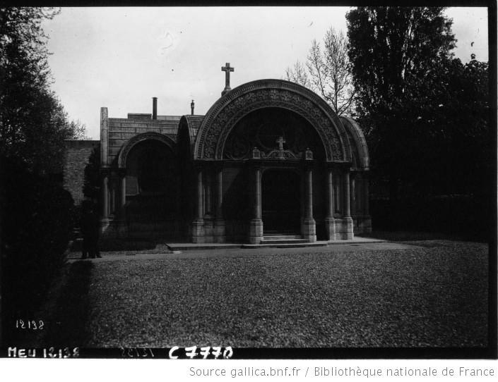 La Chapelle avant son déplacement dans les années 70.