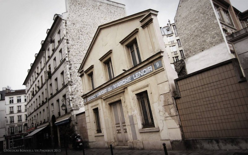 Grand Lavoir du Marché Lenoir (©N.Bonnell/De.Phoebus 2013)