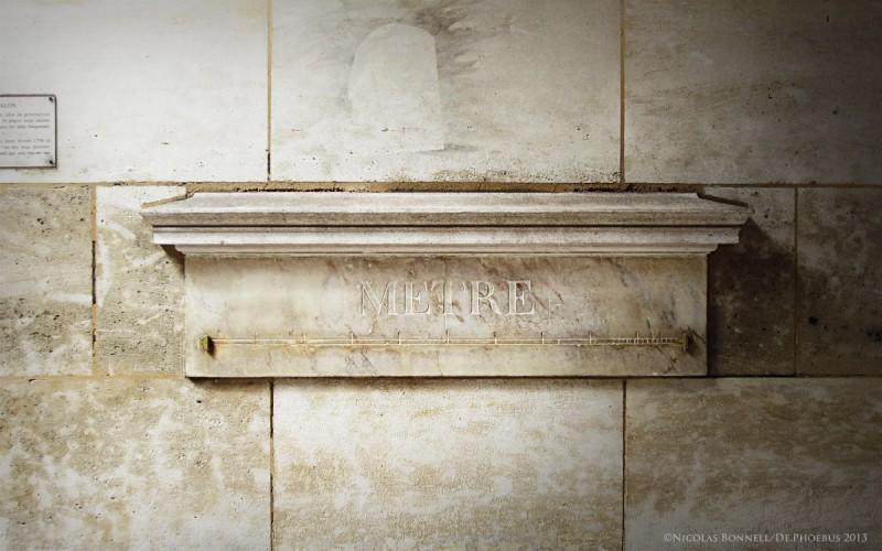 Le Mètre Etalon - Rue de Vaugirard (©Nicolas Bonnell/De.Phoebus 2013)
