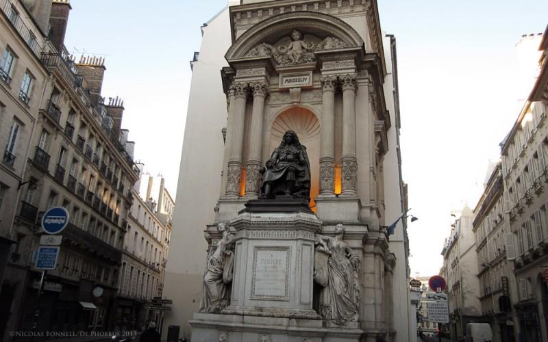 La Fontaine Molière (©N.Bonnell /De.Phoebus 2013)