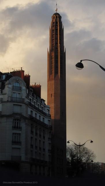 Paris 17 – L'Église Sainte Odile