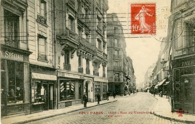 1900 la rue de vaugirard paris unplugged. Black Bedroom Furniture Sets. Home Design Ideas