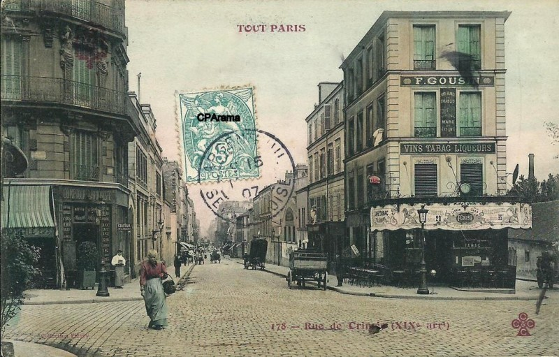 Rue de Crimée