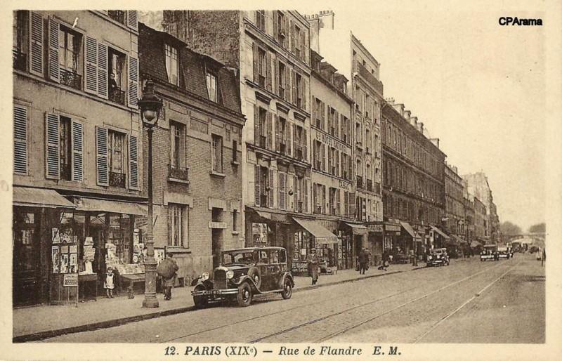 1900 la rue de flandre paris unplugged. Black Bedroom Furniture Sets. Home Design Ideas