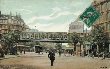 1882 – Le Boulevard Barbès