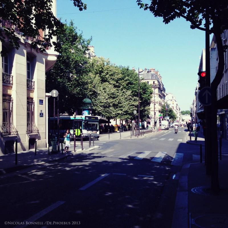 Rue des Batignolles ©Nicolas Bonnell/De.Phoebus 2013