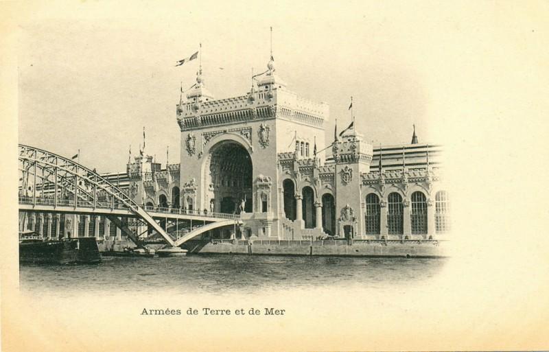 Passerelle Debilly 1900
