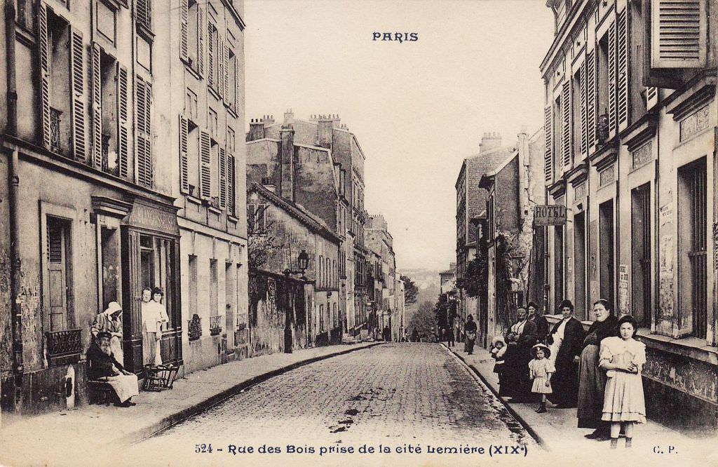 1900 Rue des Bois Rue du Pré Saint Gervais Paris Unplugged # Rue Du Bois Sabot Dreux