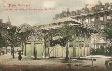 1900 – Les Pagodes Bastille et Étoile