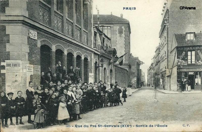 Rue du Pré Saint Gervais