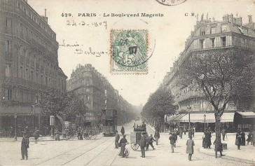 1859 – Le Boulevard de Magenta