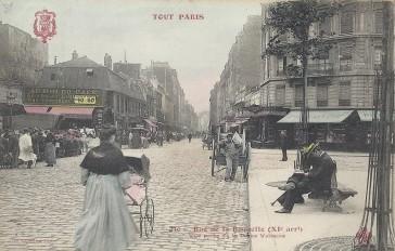 1860 – La rue de la Roquette