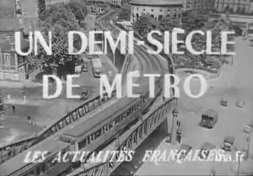 Juillet 1950 – Les 50 ans du métro