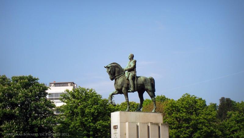 Statue de Foch - Place du Trocadéro ©Nicolas Bonnell/De.Phoebus 2013