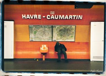 Havre-Caumartin,1998 ©Pablo Munini