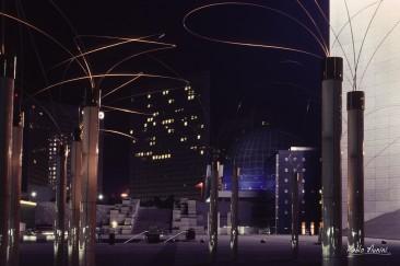 La Défense la nuit, 1994 ©Pablo Munini