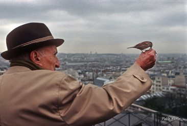 Montmartre, promenade avec Hélène , 1994 ©Pablo Munini