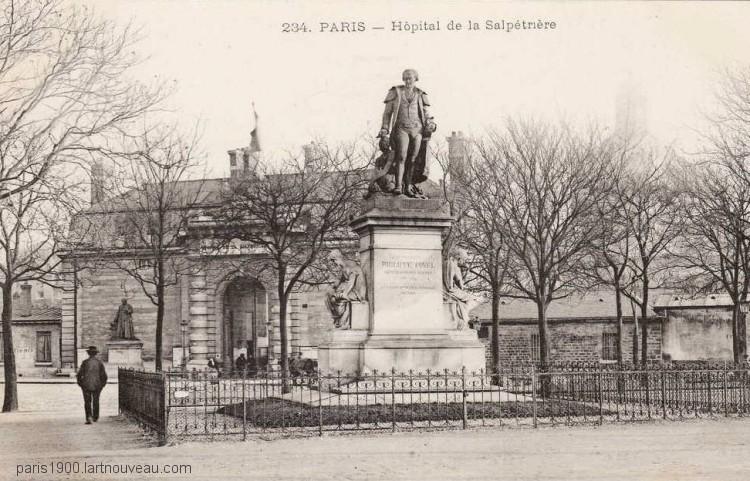 Hôpital de la Salpétrière