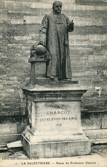 Statue de Charcot