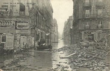 1910 – Inondations Rue de Lille