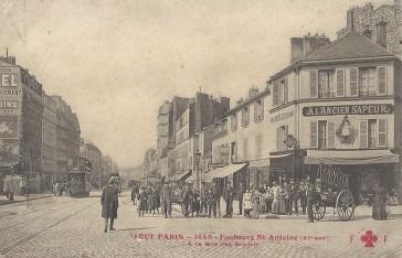 1900 – Le Faubourg Saint Antoine