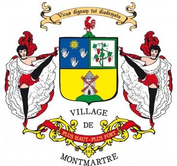 Paris 18 – Le drapeau de Montmartre