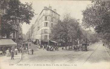 1900 – L'Avenue du Maine